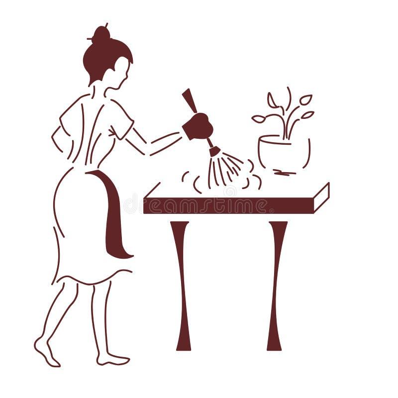 El ama de casa libre illustration