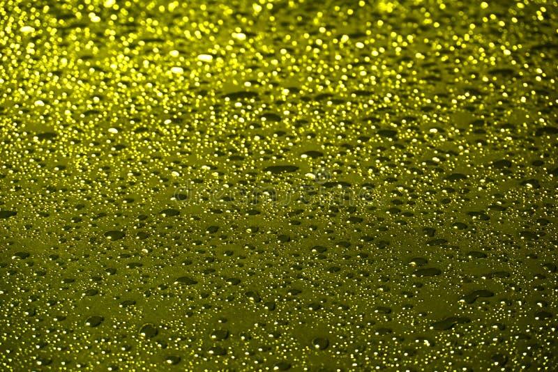 El amarillo, oro burbujea fondo abstracto imagen de archivo