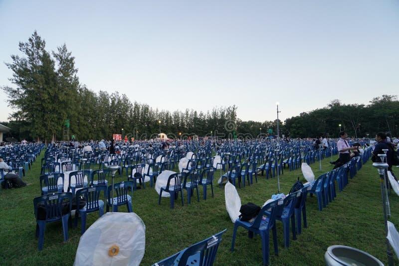 El AMI de Chaing del lannain de peng del festivalyee de la linterna del cielo, Tailandia fotos de archivo libres de regalías