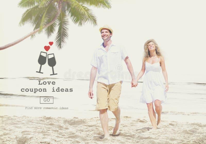El amor cita concepto romántico del sitio web de las tarjetas del día de San Valentín fotografía de archivo