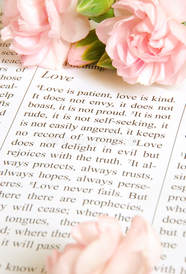 El amor es fotografía de archivo libre de regalías