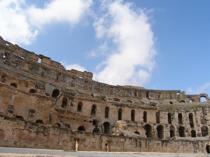 EL - Amphitheatre del `s de Jem foto de archivo