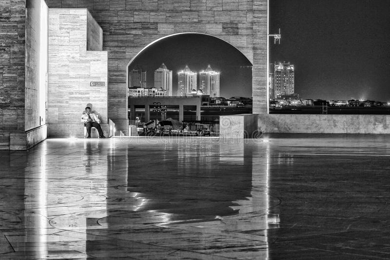 El anfiteatro de Katara fotos de archivo libres de regalías