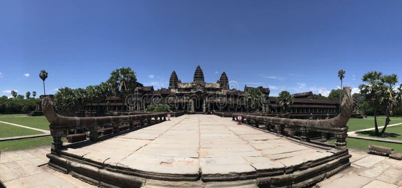 El Angkor Wat foto de archivo libre de regalías