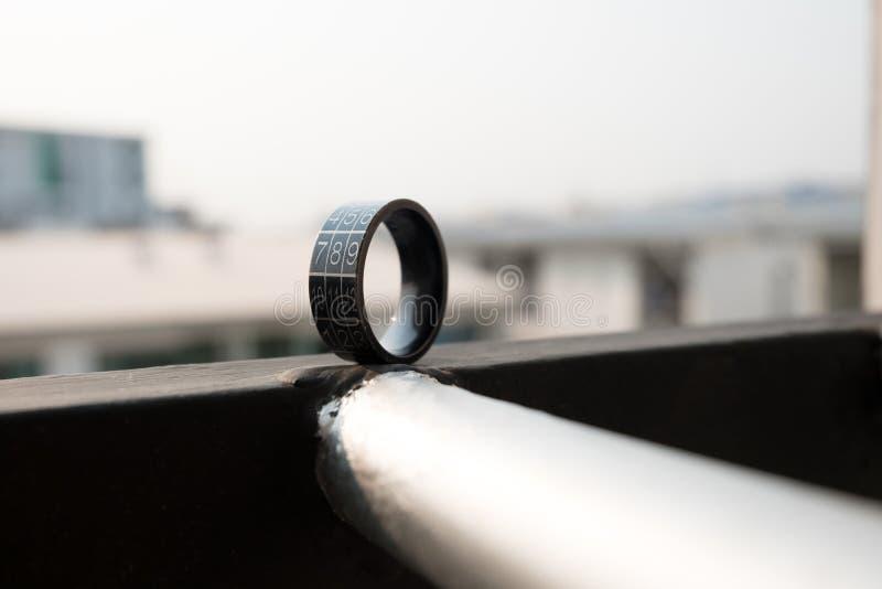 El anillo foto de archivo