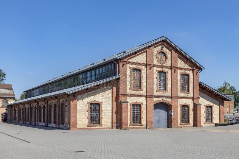 el antiguo salón de la industria al final de Schmelz fue convertido en un lugar de eventos foto de archivo libre de regalías