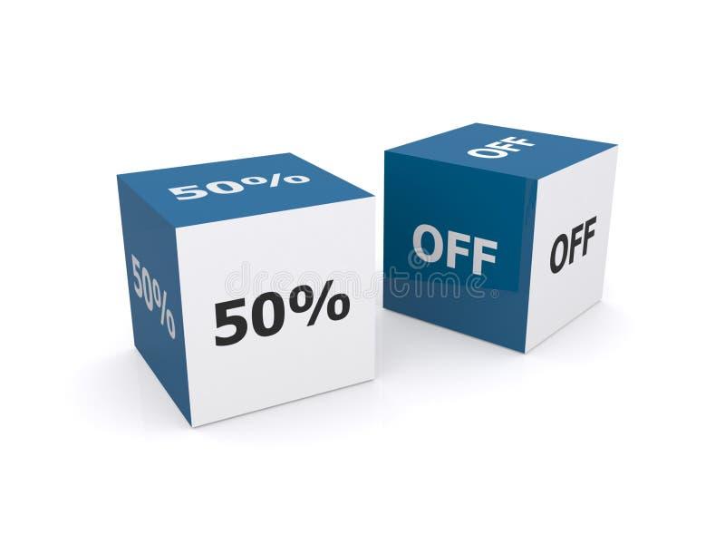 el 50% apagado foto de archivo libre de regalías