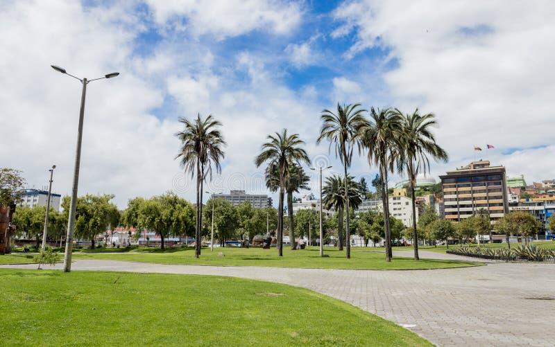 El Arbolito公园基多厄瓜多尔南美 免版税库存图片