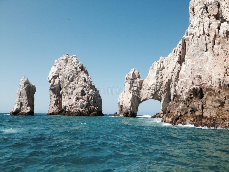 El Arco, Cabo de圣卢卡斯,墨西哥 库存照片