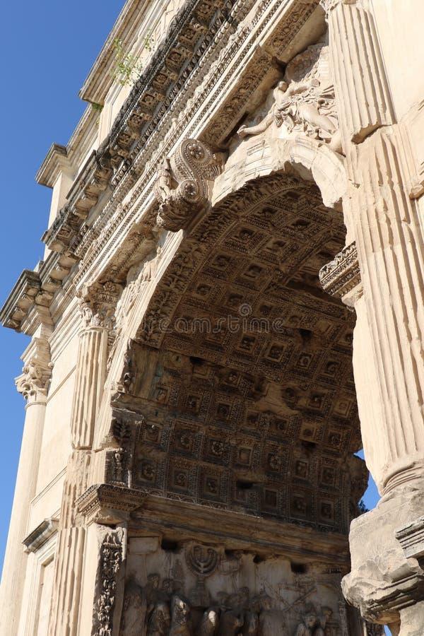 El arco de Titus foto de archivo libre de regalías