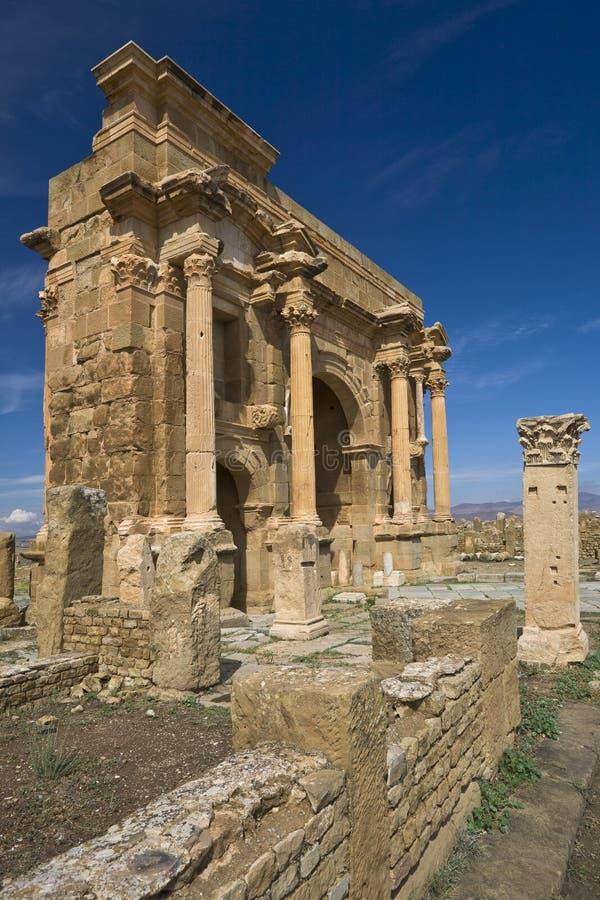 El arco de Trajan fotos de archivo libres de regalías
