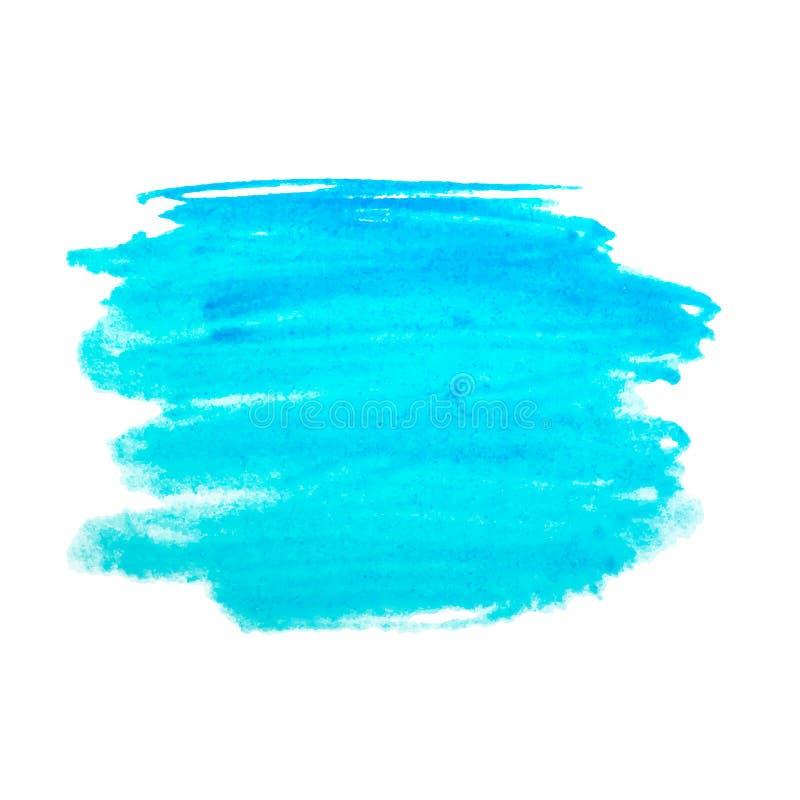 El arco iris colorea el fondo del vector de las manchas de la pintura de la acuarela ilustración del vector