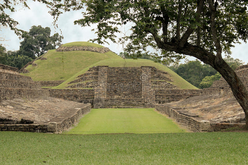 El arkeologiska Tajin fördärvar, Veracruz, Mexico royaltyfria foton