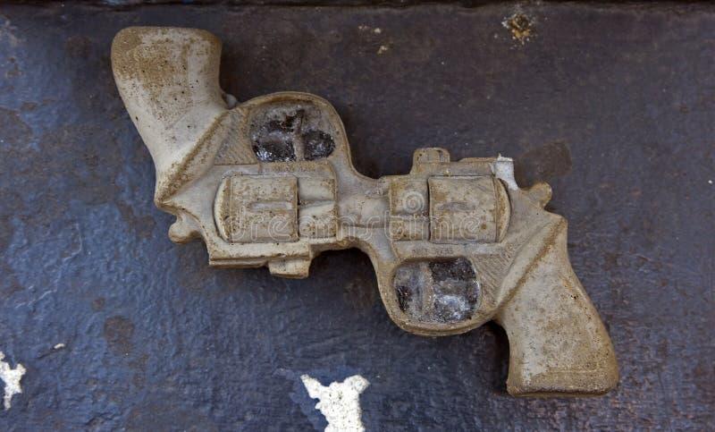 El arma de la paz foto de archivo libre de regalías