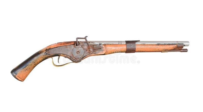 El arma de la vendimia aisló fotografía de archivo