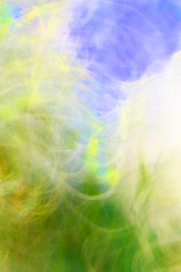 El arte de la foto, las rayas pálidas coloridas resume el fondo stock de ilustración
