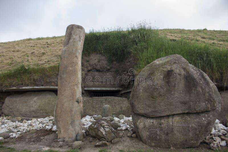 El arte megalítico del saber| El valle del arte fotografía de archivo