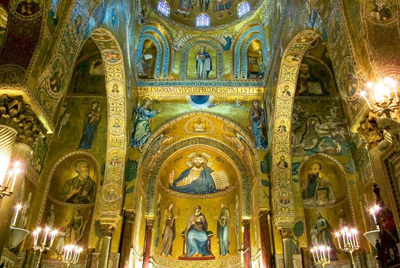 El arte y la arquitectura en Palermo imágenes de archivo libres de regalías