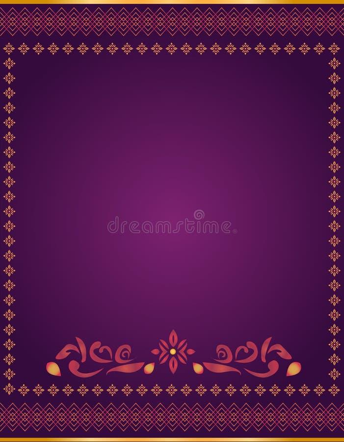 El asiático Art Background en el estilo de Tailandia puede ser utilizado en el diseño de la cubierta, diseño del libro, fondo del libre illustration