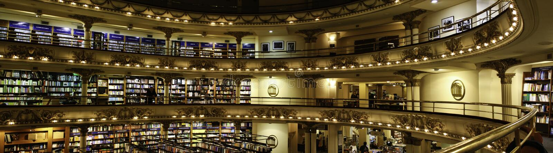 El Ateneo - Bookstore - Buenos Aires stock photo