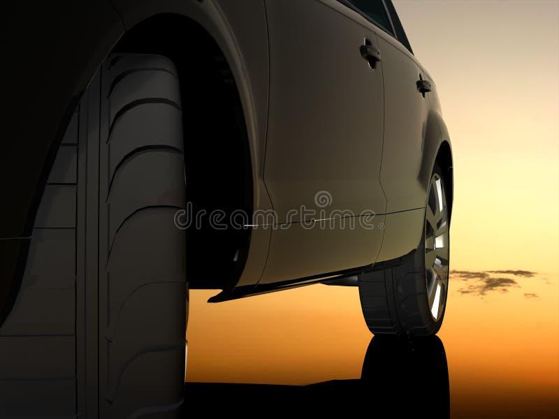 El automóvil ilustración del vector