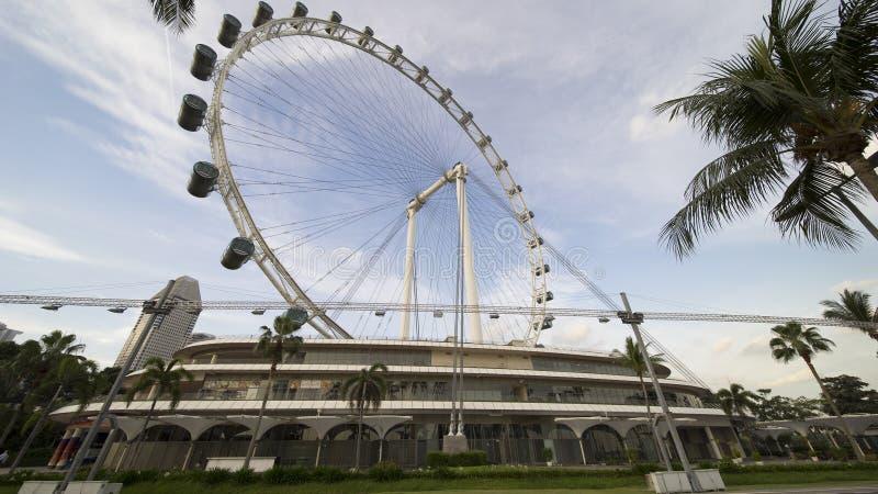 El aviador de Singapur fotografía de archivo libre de regalías