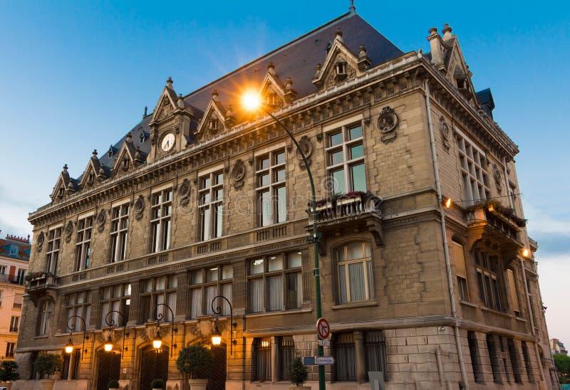 El ayuntamiento de la ciudad de Vincennes fotografía de archivo libre de regalías