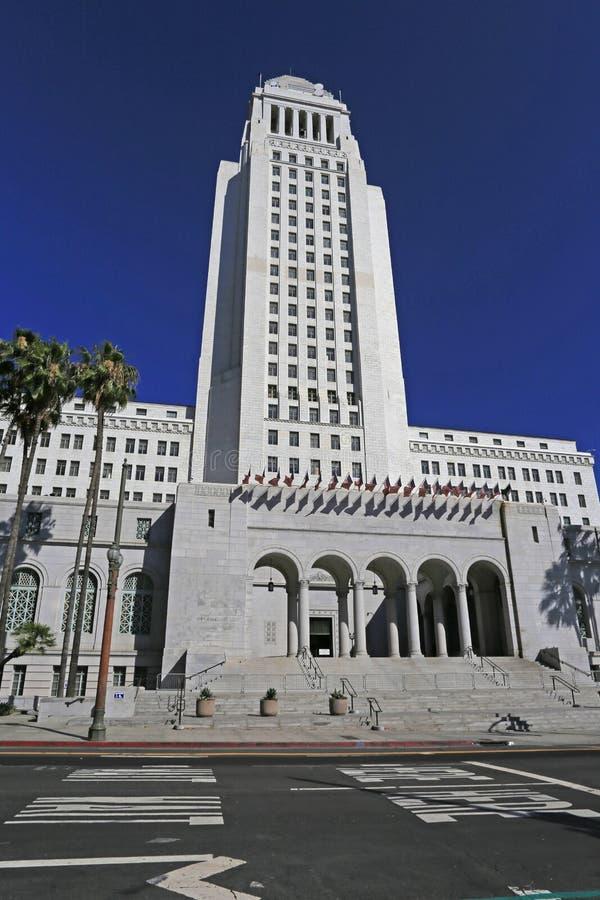 El ayuntamiento de Los Angeles, julio de 2019 foto de archivo