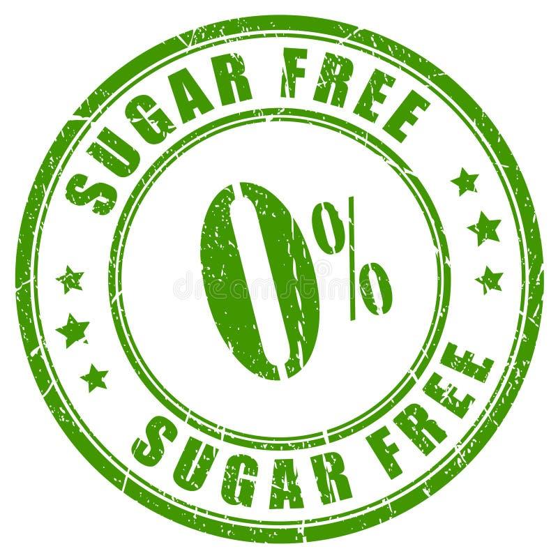 El azúcar libera el sello de goma libre illustration