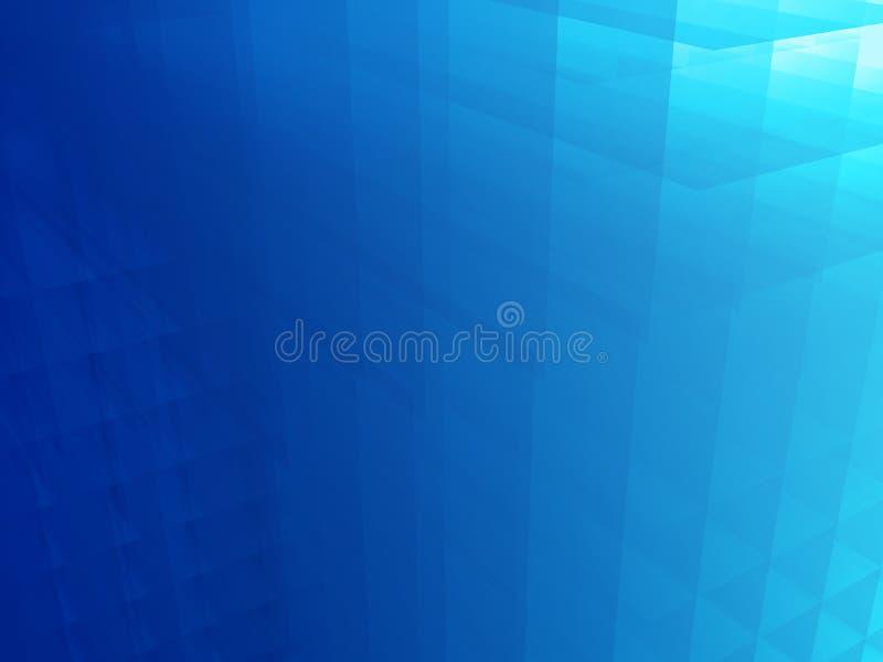El azul arracima el fondo ilustración del vector