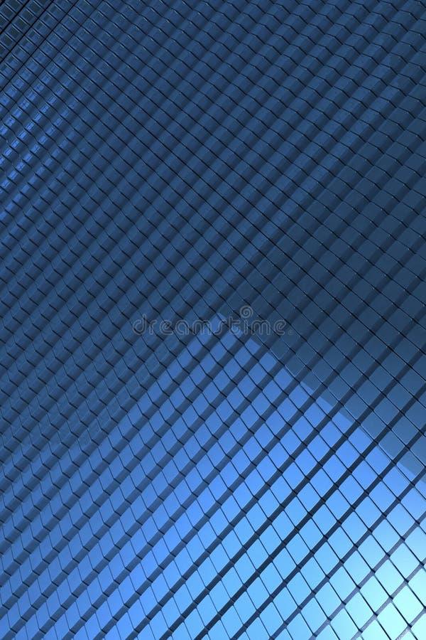 El azul cubica el fondo libre illustration