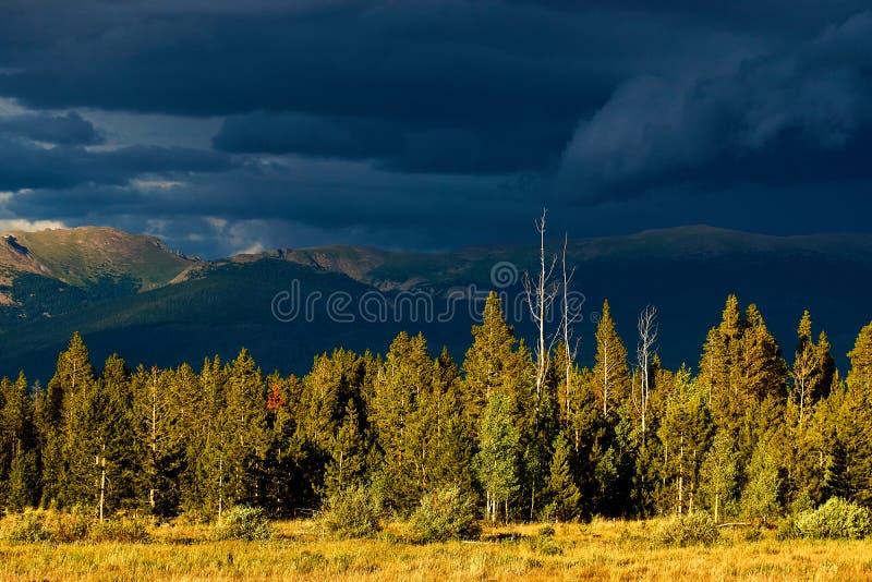 El Backroads de Colorado fotos de archivo libres de regalías
