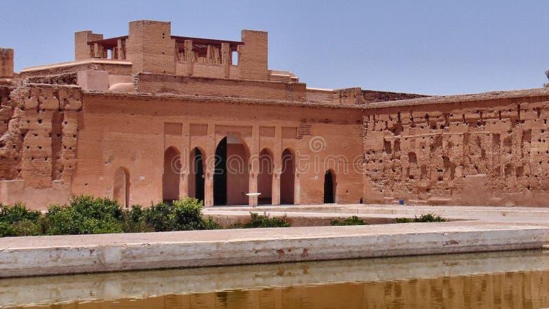 EL Badi Palace fotografía de archivo
