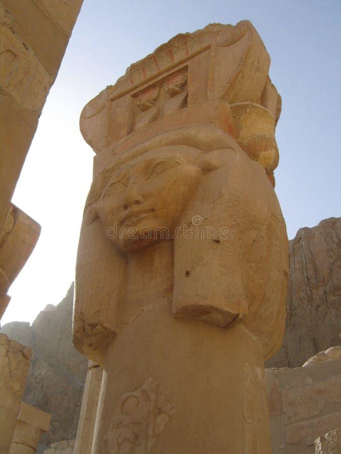 EL-Bahari de Deir, Luxor, Egipto. imagen de archivo libre de regalías