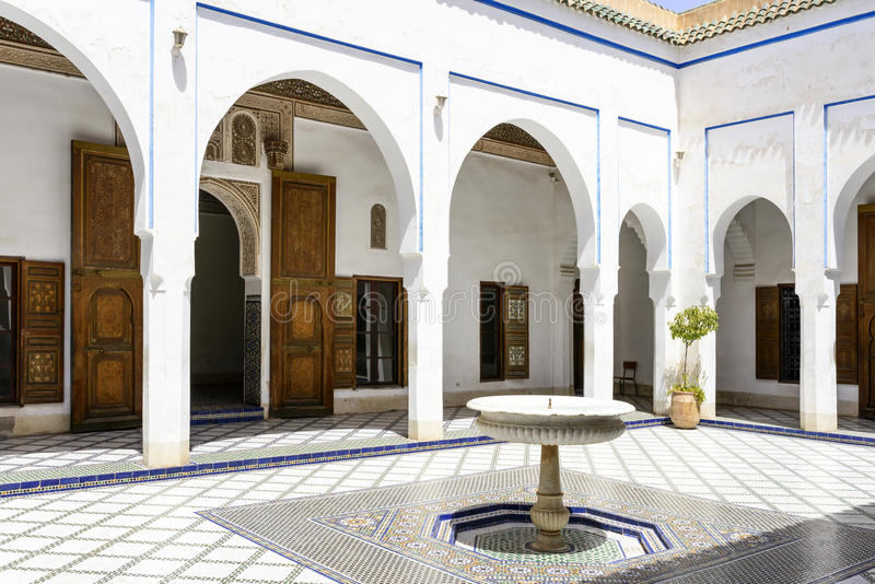 EL Bahia Palace immagine stock