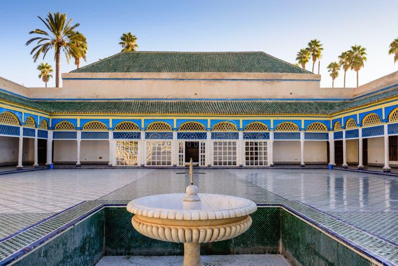 EL Bahia Palace fotografia stock libera da diritti