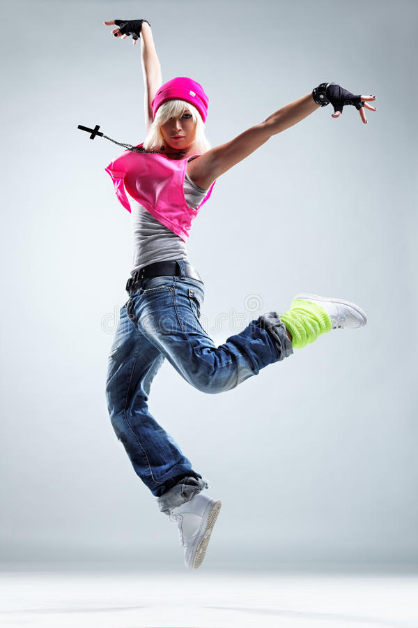 El bailarín fotos de archivo libres de regalías
