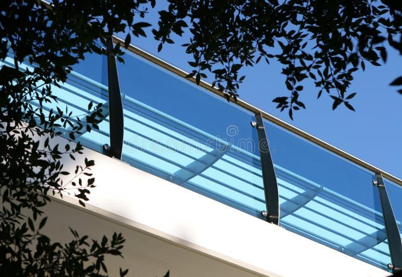 El balcón foto de archivo