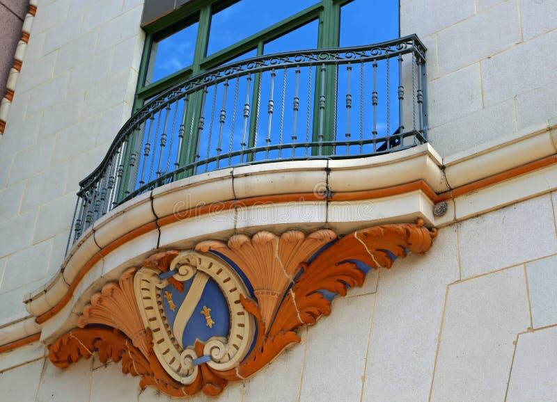 El balcón fotos de archivo