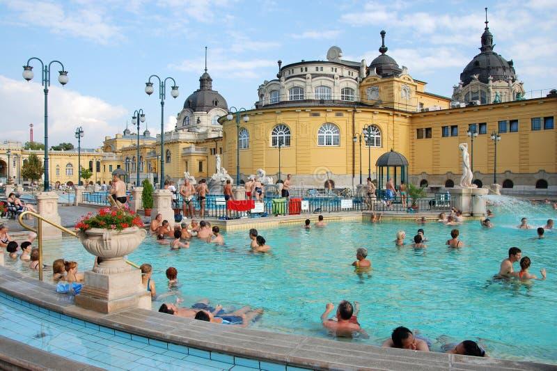 El balneario de Szechenyi en Budapest