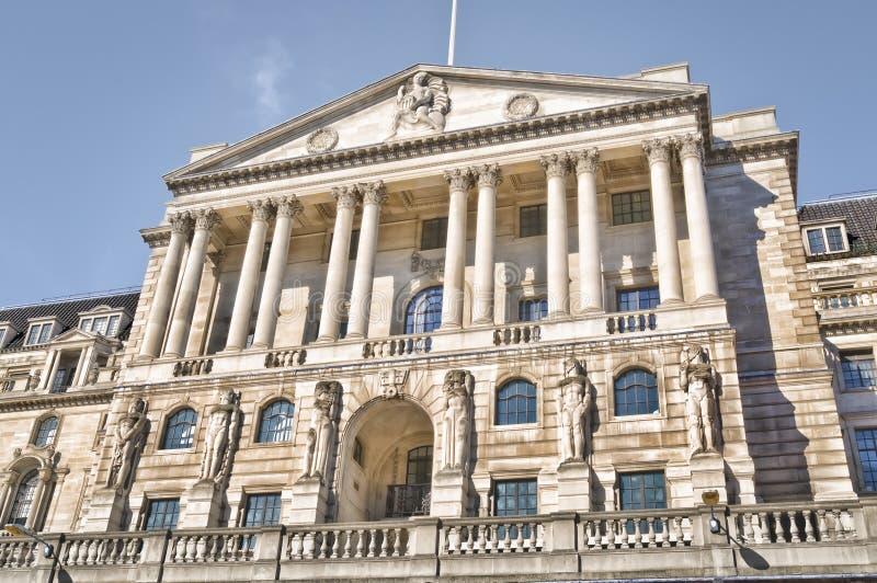 El Banco de Inglaterra, Londres imágenes de archivo libres de regalías