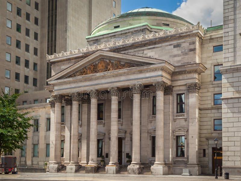El banco de Montreal imagen de archivo