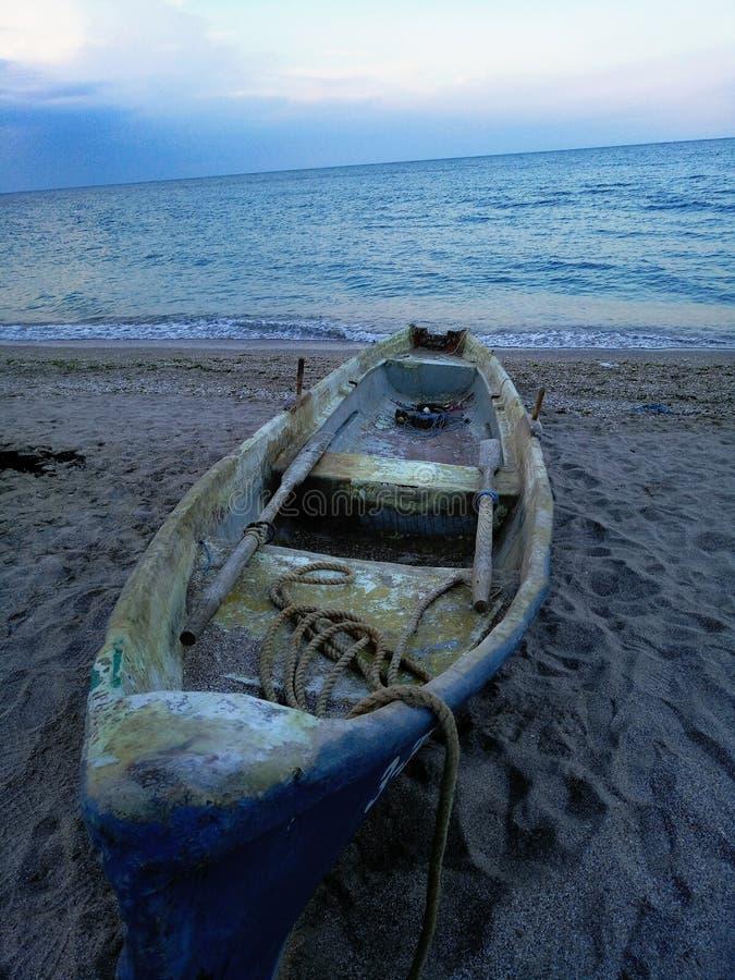 El barco de vikingo fotos de archivo