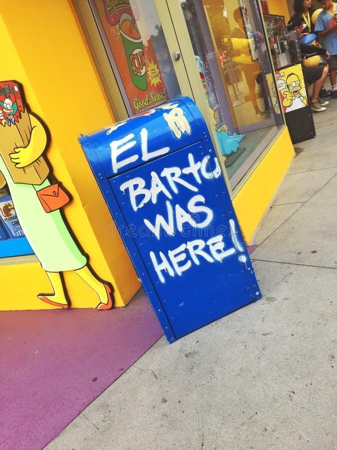 El Barto fotografia royalty free