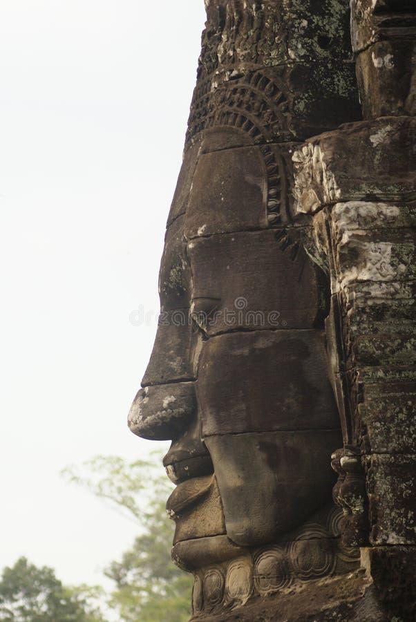 El Bayon Angkor Thom Cambodia foto de archivo