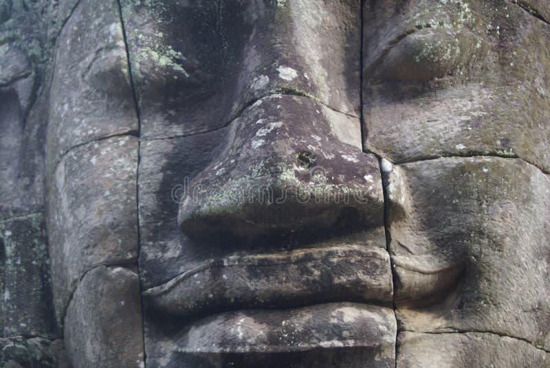 El Bayon Angkor Thom Cambodia fotografía de archivo libre de regalías