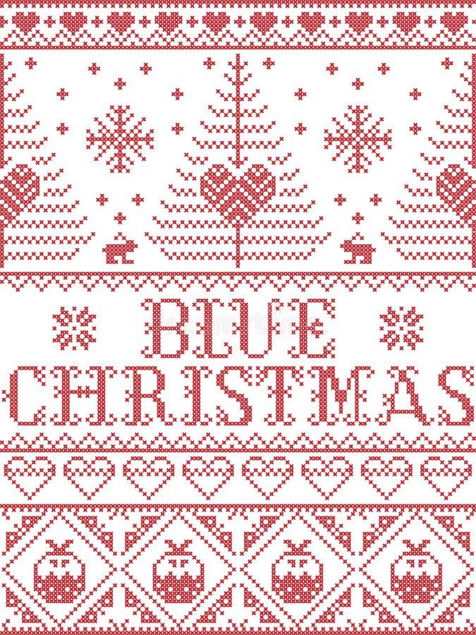 El bebé del modelo de la Navidad viene por favor modelo inconsútil del villancico casero inspiró por invierno festivo de la cultu libre illustration