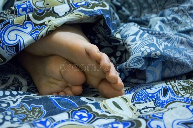 El bebé está durmiendo fotografía de archivo libre de regalías