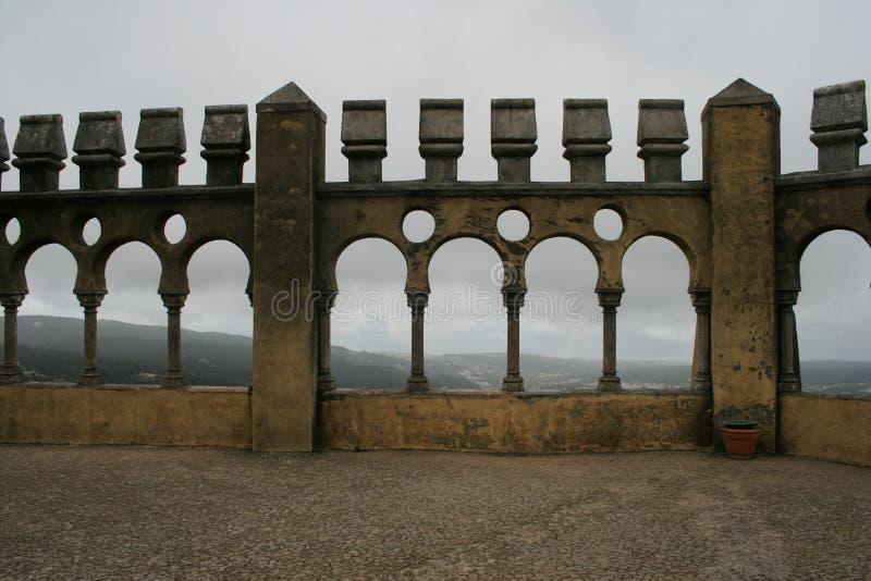 El belvedere de Pena Sintra, Portugal foto de archivo