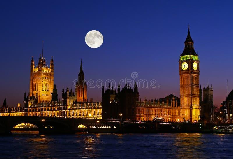 El Ben grande en la noche fotografía de archivo